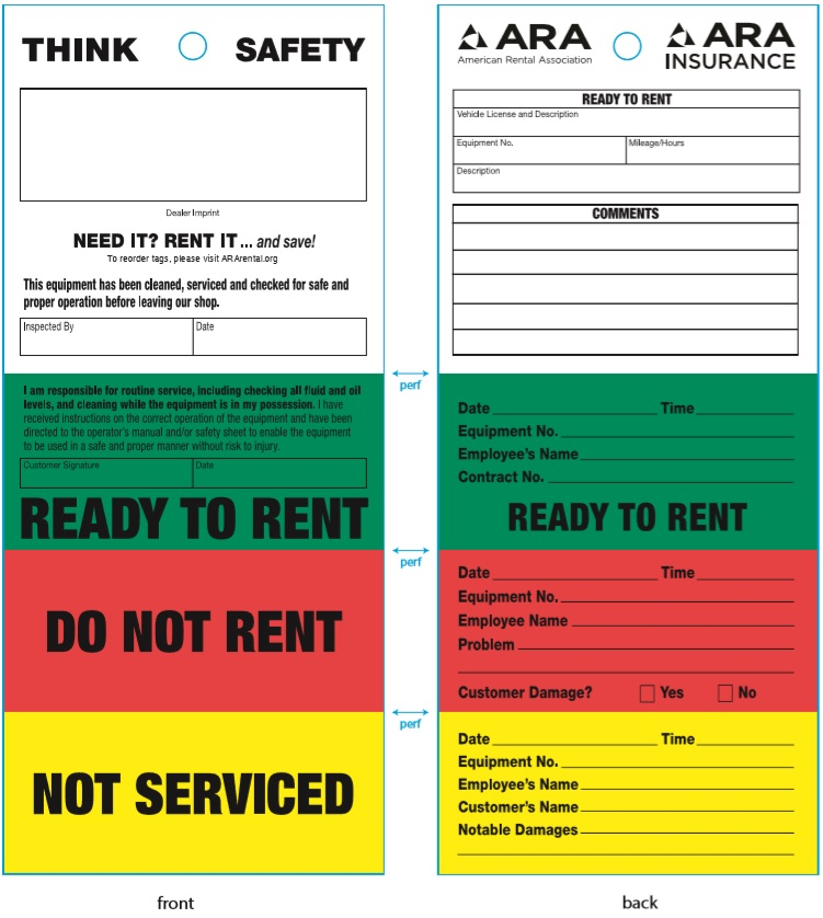 Ready-to-Rent Tags
